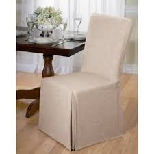 Chair Covers For Dining Room Chairs Tie Back And Corseted Slipcovers A Fun Way To Dress Up Plain