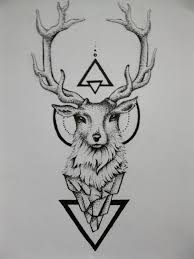 buck head tattoo design pictures to pin on pinterest tattooskid