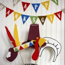 Homemade Photo Booth 30 Fun Thanksgiving Kids Table Ideas Happiness Is Homemade
