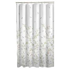 Winter Scene Shower Curtain by Amazon Com Maytex Dragonfly Garden Semi Sheer Fabric Shower