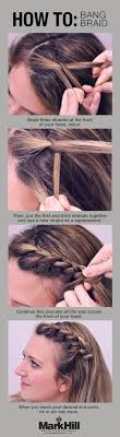 hairstyles put your face on the hairstyle 10 easy hairstyles for bangs to get them out of your face easy