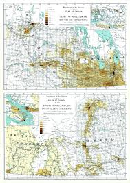 Canada Population Density Map by The Billy Wilson The Population Of Every Municipality In Canada