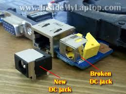 how to disassemble gateway nv to fix dc jack inside my laptop