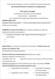 sample resumes for college college student resume example sample