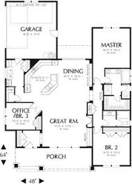 small one level house plans 141 1281 floor plan level lake house country