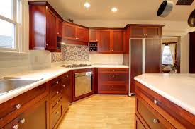 cabinet mahogany wood kitchen cabinet