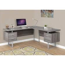 Computer Desk L Shaped L Shaped Desks Hayneedle