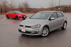 volkswagen hatch old 2015 toyota corolla vs volkswagen golf autoguide com news