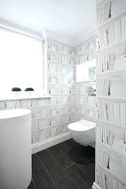 bathroom with wallpaper ideas bathroom wallpaper patterns impressive modern wallpaper ideas