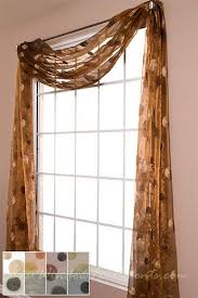 Chocolate Brown Valances For Windows 20 Best Pretty Curtain Scarf Ideas Images On Pinterest Curtain