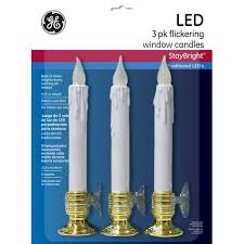 ge nicolas flickering battery operated window candle