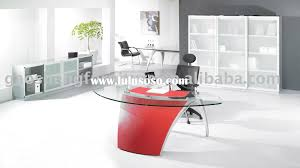 Glass Office Furniture Desk Office Furniture Glass Desk Table Gs Tj018a1 Clipgoo