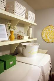 Neutrals Wall Color Laundry Room With Neutral Wall Color And Wall Shelves Organizing
