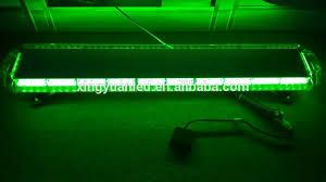 green led light bar waterproof slim flash strobe lightbar