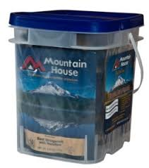 Mountain House Food by Deal Or No Deal Mountain House Just In Case Buckets Top Food