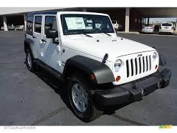 jeep rubicon white sport 2013 bright white jeep wrangler unlimited sport s 4x4 78824816