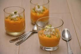 cuisine verrine verrine apéritive carottes chèvre et pistaches au fil du thym