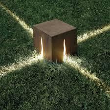 illuminazione a pavimento scopri lada da pavimento granito h 60 cm per esterni h 30