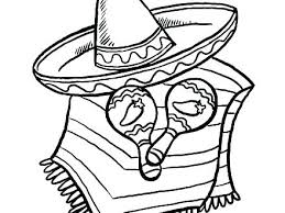 Coloriage Sombrero Maracas Chihuahua Chihuahua Coloriage Sombrero