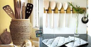 porte ustensiles cuisine porte ustensiles diy pour la cuisine 15 idées pour vous inspirer