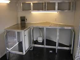 v nose enclosed trailer cabinets vnose front cabinets with generator trailer cabinets pinterest