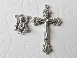 rosary supplies 32 best rosary parts images on rosaries bronze and