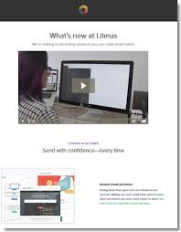 how litmus built an engaging product announcement email