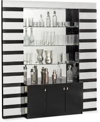 dining room furniture spectra wall bar black geometry