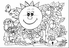 superb spring flower coloring pages for kids with spring coloring