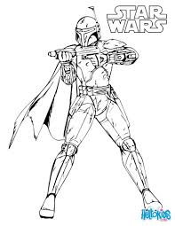 star wars coloring pages boba fett eson me