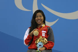 paralympics gold and a new world record for yip pin xiu sport