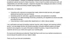 customer service cover letter cover letter examples in customer