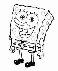 happy spongebob coloring pages recipes to make pinterest