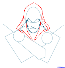 how to draw ezio assassins creed ezio step by step video game