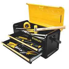 tool box stanley 2 drawer metal tool box 19 metal toolboxes screwfix com