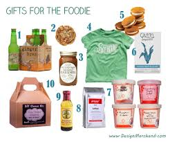 foodie gifts gift guide foodie