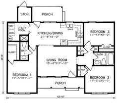 Ranch Style Home Blueprints 1200 Square Foot House Plans Ranch Style House Plans 1200