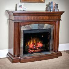 White Electric Fireplace With Bookcase Electric Infrared Fireplace Heaters White With Mantel Home Depot