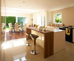 kitchen island breakfast table how to design a contemporary breakfast kitchen breakfast bars