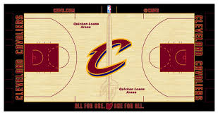 look cavs unveil new floor design for 2016 2017 season cbs