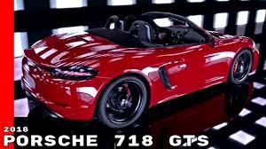 Porsche Boxster Gts Specs - 2018 porsche 718 cayman and boxster gts commercial trailer youtube