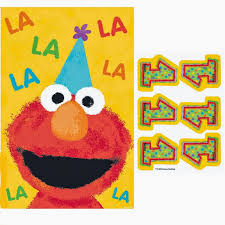 elmo themed birthday party idea