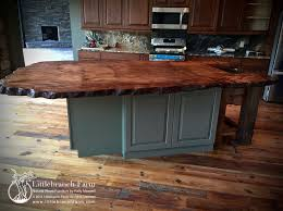 wood tops for kitchen islands live edge kitchen island new wood countertops live edge
