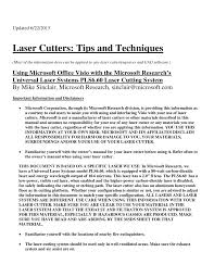laser cutter tips and techniques pdf download available