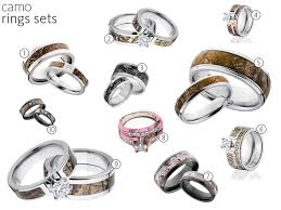 his and camo wedding rings realtree camo wedding rings wedding corners