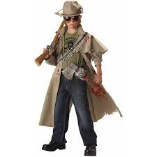 Boys Kids Halloween Costumes Zombie Hunter Boys U0027 Child Halloween Costume Walmart