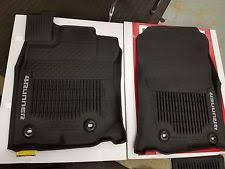 floor mats for toyota genuine toyota 4runner 2017 factory all weather floor mat 3 pc set