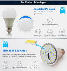 high quality table ls 5w plastic led bulb aluminum led lights