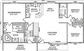 2 bedroom ranch floor plans 3 bedroom bath ranch floor plans glif org