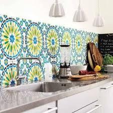 kitchen backsplash wallpaper getting the best kitchen backsplash the diy way hometone
